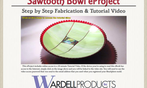 Sawtooth Bowl Made on a BinaSphere Mold – eProject & HD Video