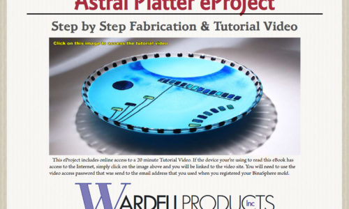 Astral Platter Made on a BinaSphere Mold – eProject & HD Video
