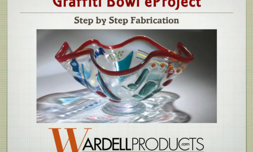 Graffiti Bowl with Stemmed Foot Made on the B235 Starfire Mold Bundle – eProject
