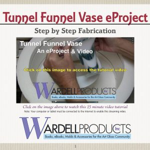 Tunnel Funnel Vase Made on a Circle-Square Drop-Thru Mold – eProject & HD Video