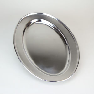 8in x 12in Oval Stainless Steel Fusing Mold