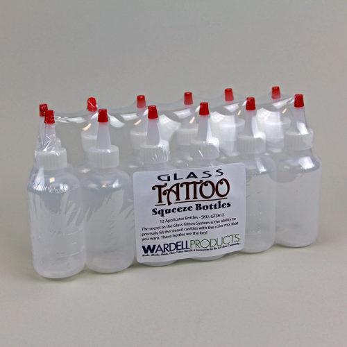 GTSB12 Squeeze Bottles