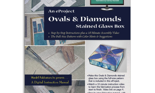 eProject – Stained Glass Box – Ovals & Diamonds
