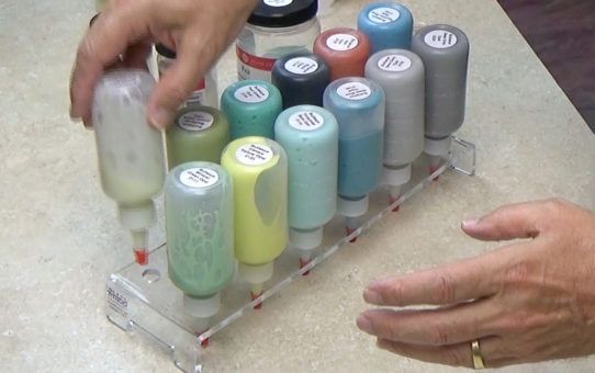 Mixing Glass Tattoo Gue Colors
