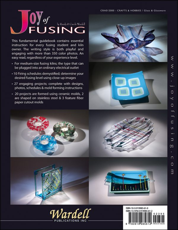 Free Shipping JOY OF FUSING Stained Glass Pattern Book