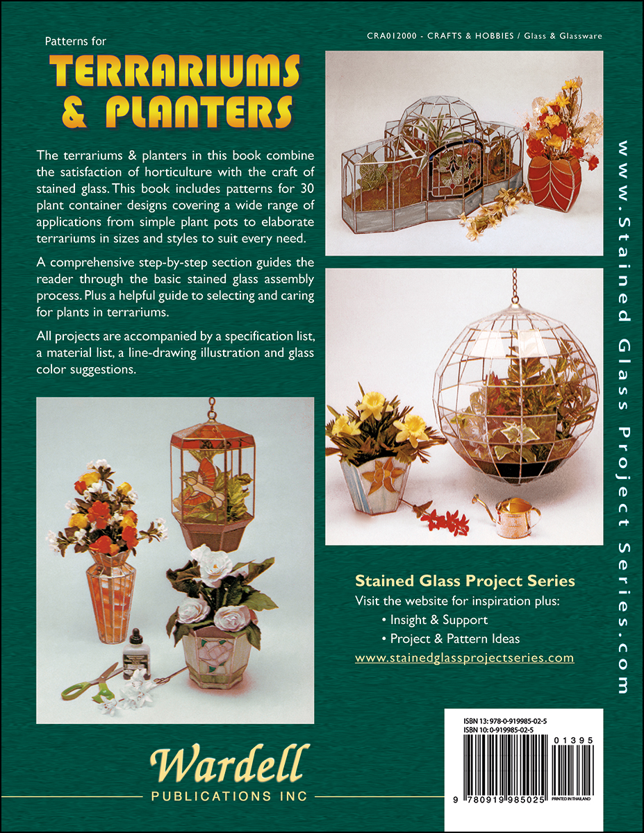 Terrariums Planters Wardell Publications Art Glass Books